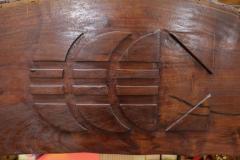 Rosewood Wall Sculpture - 1102387