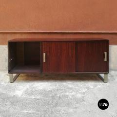 Rosewood sideboard with two sliding doors 1960s - 1927624