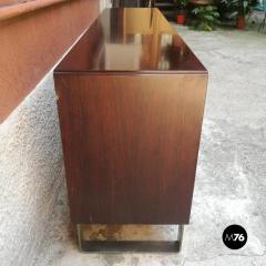 Rosewood sideboard with two sliding doors 1960s - 1927625