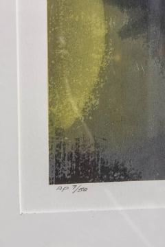 Ross Bleckner American Abstract Silkscreen on Paper Ross Bleckner - 348810