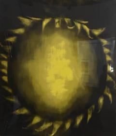 Ross Bleckner Large American Abstract Slikscreen on Paper Ross Bleckner - 348820