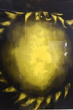 Ross Bleckner Large American Abstract Slikscreen on Paper Ross Bleckner - 348824