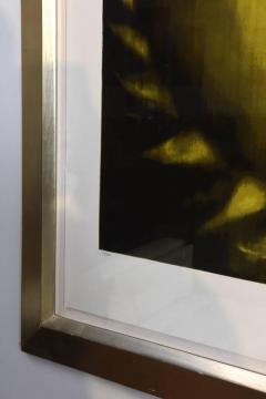 Ross Bleckner Large American Abstract Slikscreen on Paper Ross Bleckner - 348826