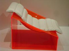 Rossi Molinari A Rare Pair of Club Chairs in Colored Plastic by Rossi Molinari for Totem - 256824