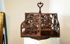 Rotating Art Nouveau Bookcase - 1202132