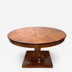 Round Biedermeier Dining Table Ash Veneer Austria Vienna circa 1825 - 1325973