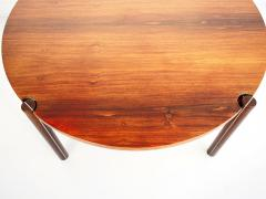 Round Mid Century Coffee Table by Hans J Frydendal - 1227830