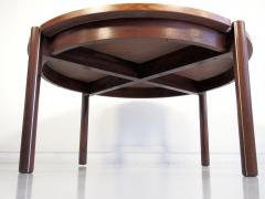Round Mid Century Coffee Table by Hans J Frydendal - 1227831