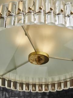 Round Multi Layers Glass Chandelier - 1663878