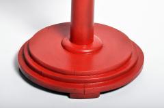 Round Teak Wood Stand - 1305186