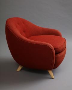 Round lounge chair - 1129190