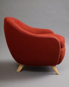 Round lounge chair - 1129193