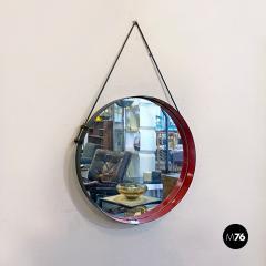 Round metal mirror 1960s - 2135137
