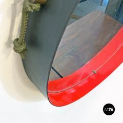 Round metal mirror 1960s - 2135210