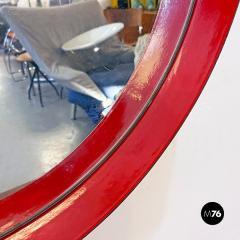 Round metal mirror 1960s - 2135214