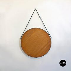 Round metal mirror 1960s - 2135229
