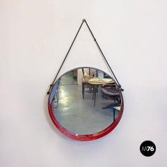 Round metal mirror 1960s - 2135230