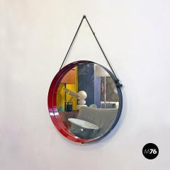 Round metal mirror 1960s - 2135231