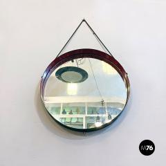 Round metal mirror 1960s - 2135232