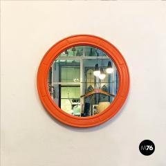Round plastic mirror 1970s - 2135134