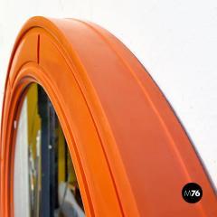 Round plastic mirror 1970s - 2135193