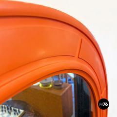 Round plastic mirror 1970s - 2135194