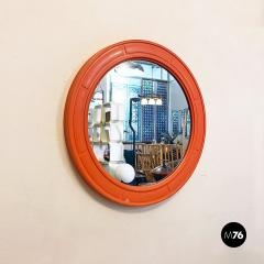 Round plastic mirror 1970s - 2135203