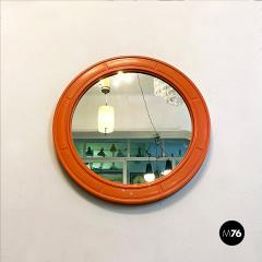 Round plastic mirror 1970s - 2135206