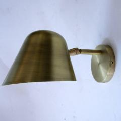 Rounded Brass Sconce - 979769