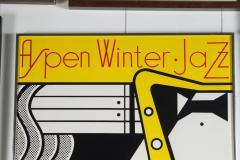 Roy Lichtenstein Aspen Winter Jazz Serigraph by Roy Lichtenstein - 258505