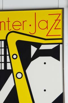 Roy Lichtenstein Aspen Winter Jazz Serigraph by Roy Lichtenstein - 258509