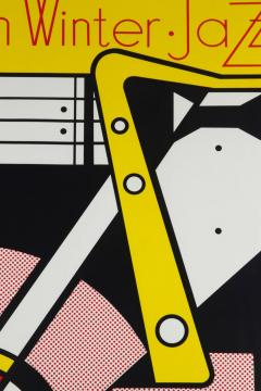 Roy Lichtenstein Aspen Winter Jazz Serigraph by Roy Lichtenstein - 258510