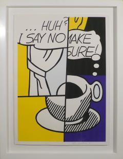 Roy Lichtenstein Huh I Say No  - 520177