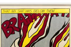 Roy Lichtenstein Roy Lichtenstein Signed Triptych As I Opened Fire Prints Stedelijk Museum - 1554472