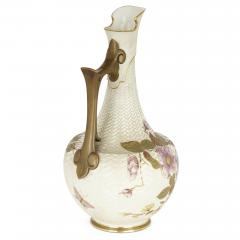 Royal Worcester Japanese style English porcelain ewer by Royal Worcester - 2073821