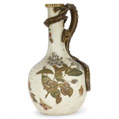 Royal Worcester Japonisme style porcelain ewer by English firm Royal Worcester - 2073828