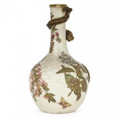 Royal Worcester Japonisme style porcelain ewer by English firm Royal Worcester - 2073830