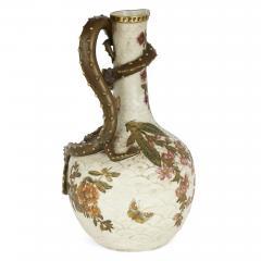 Royal Worcester Japonisme style porcelain ewer by English firm Royal Worcester - 2073831