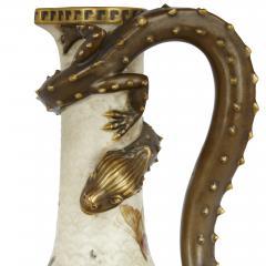 Royal Worcester Japonisme style porcelain ewer by English firm Royal Worcester - 2073832
