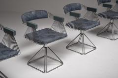 Rudi Verelst Mid Century Modern Novalux dining set by Rudi Verelst 1970s - 1950508
