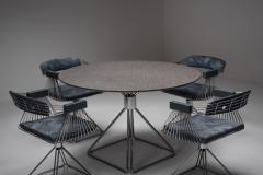 Rudi Verelst Mid Century Modern Novalux dining set by Rudi Verelst 1970s - 1950509