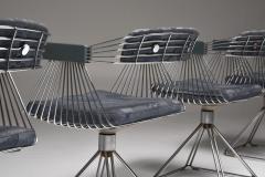 Rudi Verelst Mid Century Modern Novalux dining set by Rudi Verelst 1970s - 1950510