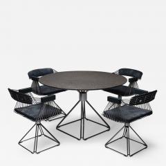 Rudi Verelst Mid Century Modern Novalux dining set by Rudi Verelst 1970s - 1953270