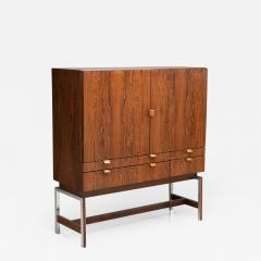 Rudolf Bernd Glatzel Rudolf Bernd Glatzel attr High Bar Cabinet for Fristho The Netherlands 1960s - 1400179