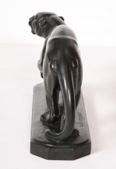 Rudolph Stocker Art Deco bronze Panther - 1916188