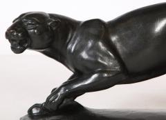 Rudolph Stocker Art Deco bronze Panther - 1916190