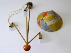Rupert Nikoll Amazing 3 Armed Chandelier or Pendant Lamp Chinese Hut y Rupert Nikoll Austria - 2067022