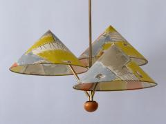 Rupert Nikoll Amazing 3 Armed Chandelier or Pendant Lamp Chinese Hut y Rupert Nikoll Austria - 2067026