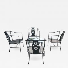Russell Woodard Five Piece Black Montego Patio Set - 718990