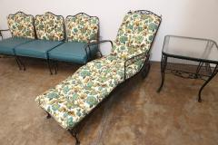 Russell Woodard Mid Century Modern Hollywood Glam Russell Woodard Patio or Garden Patio Set 9 - 615589